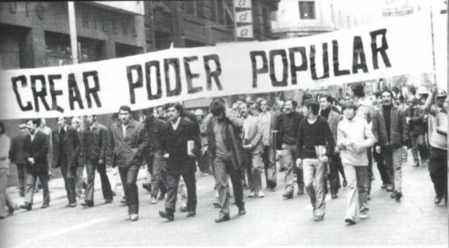Manifestación de Unidad Popular. Chile, septiembre de 1970