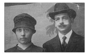 Faustina e Ismael de jovenes.jpg