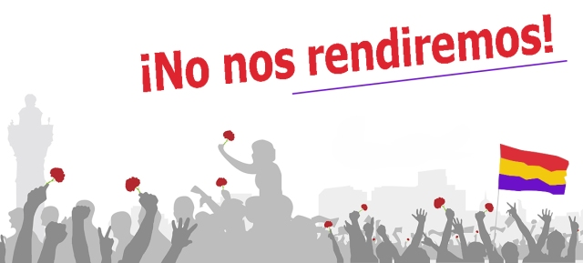 ¡No nos rendiremos!