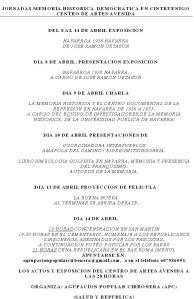 PROGRAMA JORNADAS CINTRUENIGO 14-04-2015