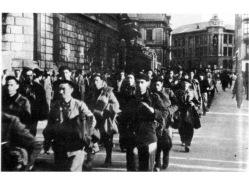 Gudaris rendidos y prisioneros a la caída de Bilbao. Ref. España en llamas