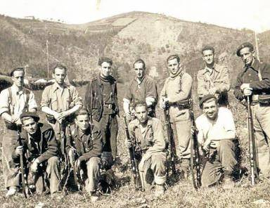 Batallón Rosa Luxemburgo en el frente de Bizkaia