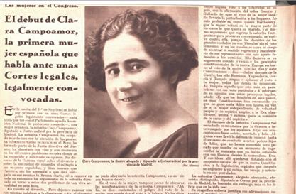 Ckara Campoamor 1931
