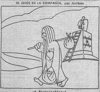 El Sagrado Corazón en El Socialista de 1933.