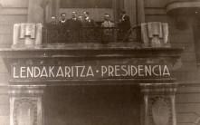 El Gobierno vasco desde el Hotel Carltón.Foto Blog de Anasagasti