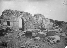 Ruinas de la ermita de la Santa Cruz de Bizkargi