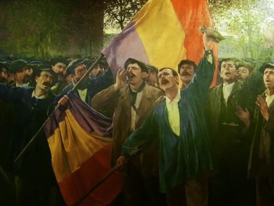 """""""Manifestación Obrera"""". Autor, Antoni Struch. 1907. Museu d'Art de Sabadell"""