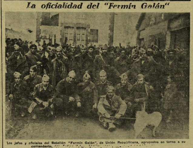 U Fermin y Galan oficiales 27-3-37