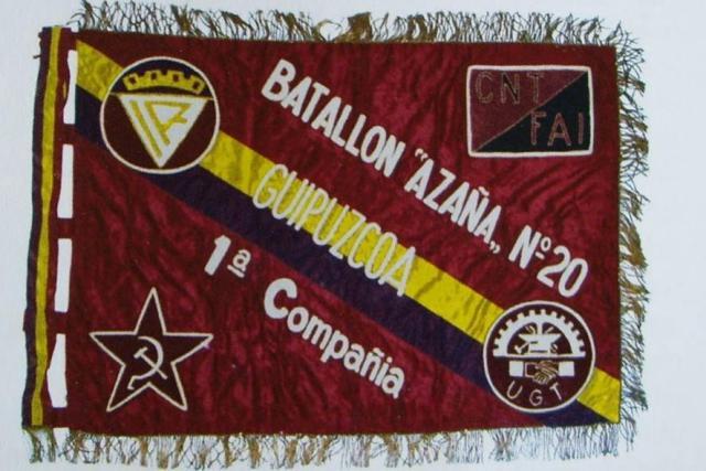 BANDERIN BON AZAÑA 1CIA