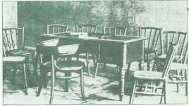 Mesa en la que reunieron los asistentes del pacto de San Sebastián el 17 de agosto de 1930, en el Casino Republicano (calle Garibay, 4, 1º).