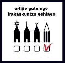 erlijio-gutxiago